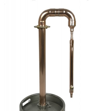 Destylator prosty pot-still