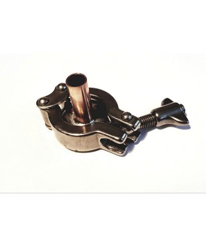 Tri-Clamp end for plate still condenser